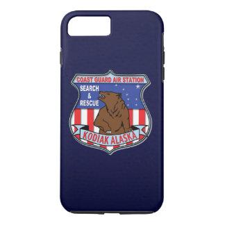 "Coast Guard Air Station Kodiak Alaska ""Navy Blue"" iPhone 7 Plus Case"