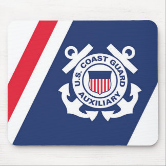 Coast Guard Auxiliary Mose Pad Mouse Mat