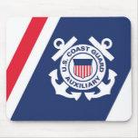 Coast Guard Auxiliary Mose Pad Mouse Pad