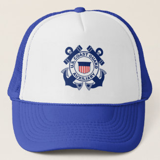 Coast Guard Auxiliary Trucker Hat