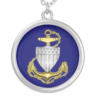 Coast Guard Chief Petty Officer Necklace