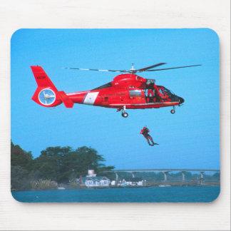 Coast Guard Chopper Mousepad