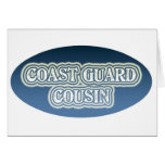 Coast Guard Cousin Greeting Cards