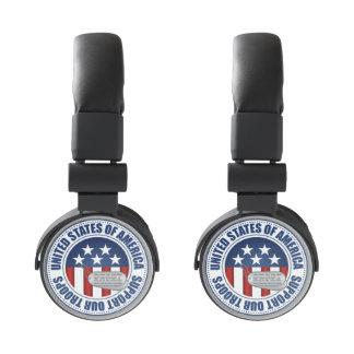 Coast Guard Emblem Seal Badge Logo Design #3 Headphones