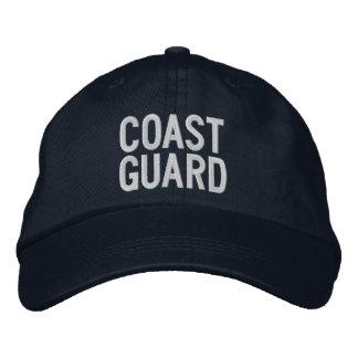 COAST GUARD EMBROIDERED CAP