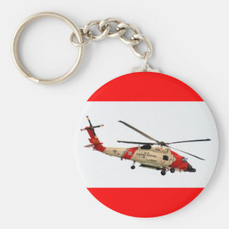 Coast Guard Helicopter Key Ring