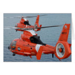 Coast Guard Helicopters Greeting Cards