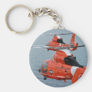 Coast Guard Helicopters Key Ring
