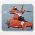 Coast Guard Helicopters Mouse Mat