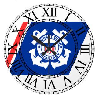 Coast Guard Logo Clock
