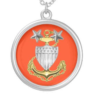 Coast Guard Master Chief Necklace