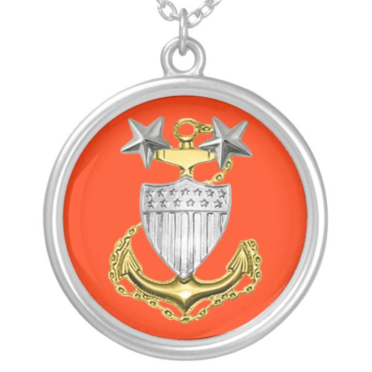 Coast Guard Master Chief Necklace