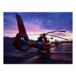 Coast Guard MH-65 Mako Helicopter Poster