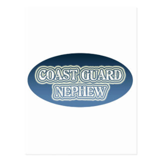 Coast Guard Nephew Postcard