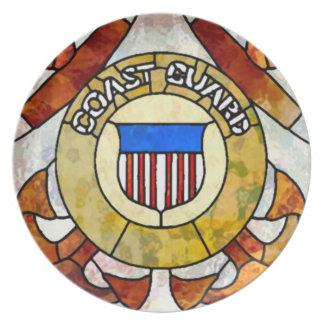 Coast Guard Nouveau Dinner Plates