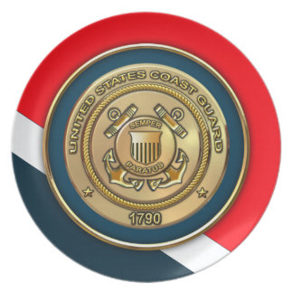 Coast Guard Plate