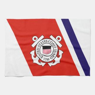 Coast Guard Racing Stripe - Left Towels
