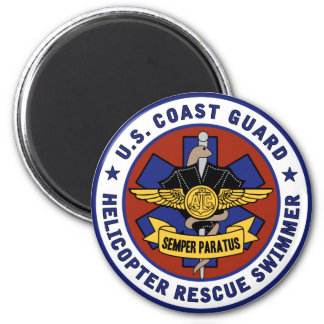 Coast Guard Rescue Swimmer Magnet