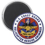 Coast Guard Rescue Swimmer Magnets