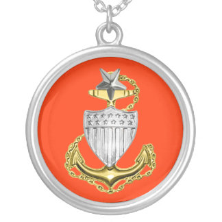 Coast Guard Senior Chief Necklace