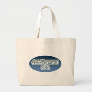 Coast Guard Son Tote Bags