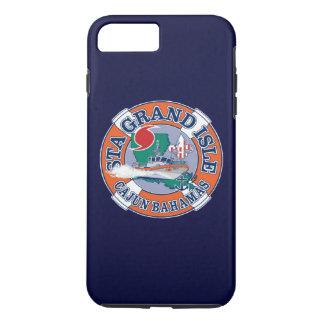 Coast Guard Station Grand Isle Louisiana Navy Blue iPhone 7 Plus Case