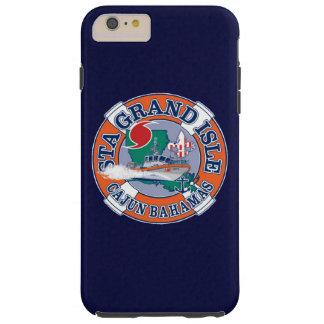 Coast Guard Station Grand Isle Louisiana Navy Blue Tough iPhone 6 Plus Case