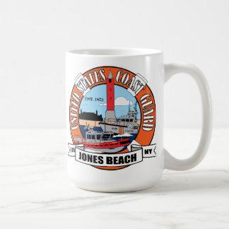 Coast Guard Station Jones Beach New York Basic White Mug