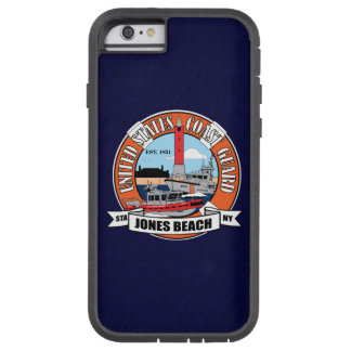 "Coast Guard Station Jones Beach New York ""Blue"" Tough Xtreme iPhone 6 Case"