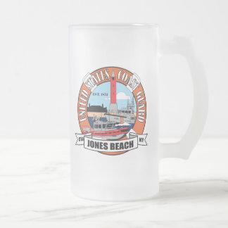 Coast Guard Station Jones Beach New York Frosted Glass Mug