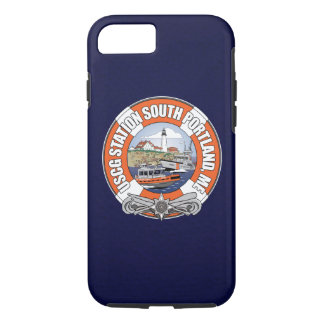 Coast Guard Station South Portland Maine iPhone 7 Case