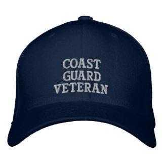 Coast Guard Veteran Embroidered Cap