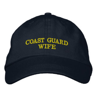 Coast Guard Wife cap embroidered Embroidered Cap