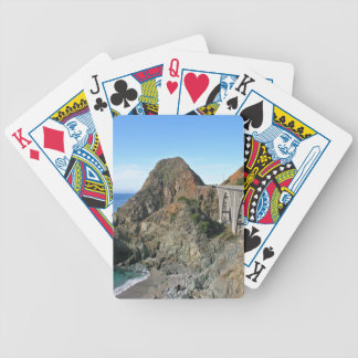 Coast Highway 1 - Big Creek Bridge Bicycle Playing Cards