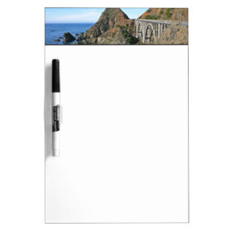 Coast Highway 1 - Big Creek Bridge Dry Erase Board