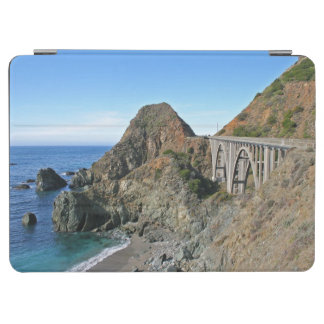 Coast Highway 1 - Big Creek Bridge iPad Air Cover