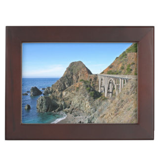 Coast Highway 1 - Big Creek Bridge Keepsake Box