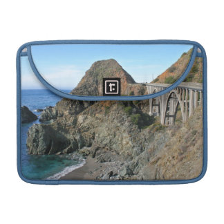 Coast Highway 1 - Big Creek Bridge Sleeve For MacBooks