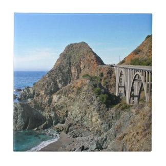 Coast Highway 1 - Big Creek Bridge Tile