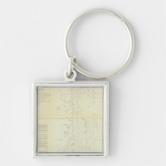 Coast of Delaware, Maryland, pt of Virginia Key Ring