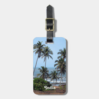 Coast of India Luggage Tag