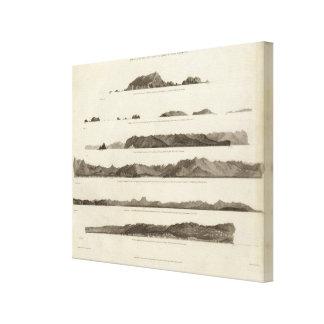 Coast of North West America Canvas Print