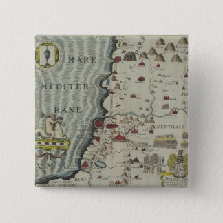 Coast of Phoenicia 15 Cm Square Badge