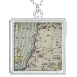Coast of Phoenicia Silver Plated Necklace