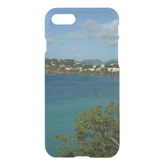 Coast of St. Lucia Caribbean Vacation Photo iPhone 8/7 Case