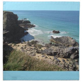 Coast Path nr Padstow, Cornwall Cloth Napkins