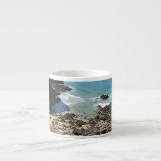 Coast Path nr Padstow, Cornwall Espresso Mug