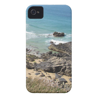 Coast Path nr Padstow, Cornwall iPhone 4 Case