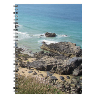 Coast Path nr Padstow, Cornwall Notebook 80 pages