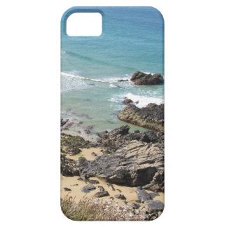 Coast Path nr Padstow, Cornwall Photo iPhone case